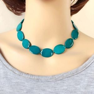Jewelry - NEW Blue turquoise necklace. Fashion Jewelry